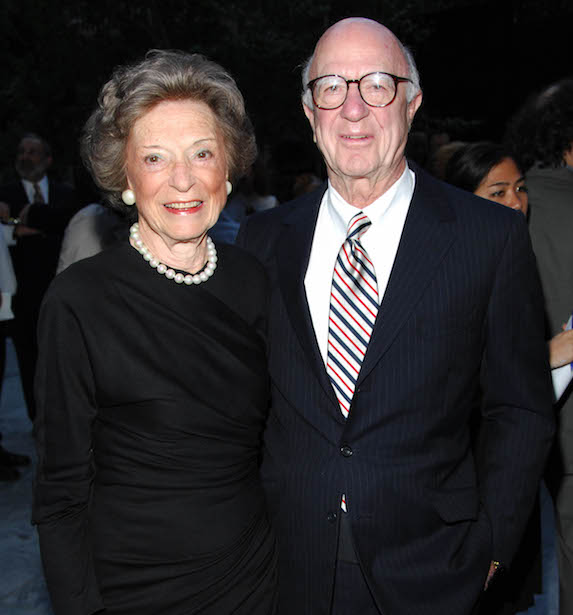 Doris Fisher and husband Donald Fisher