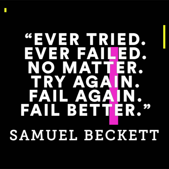Inspiration quote about failure