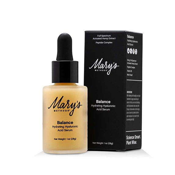 Mary's Nutritionals BALANCE Hydrating Hyaluronic Acid Serum