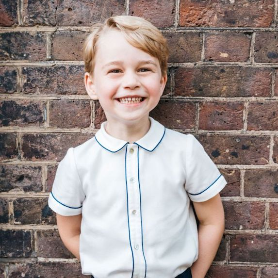Prince George at age 5