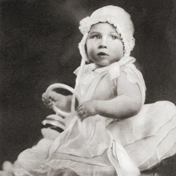 Baby Princess Margaret