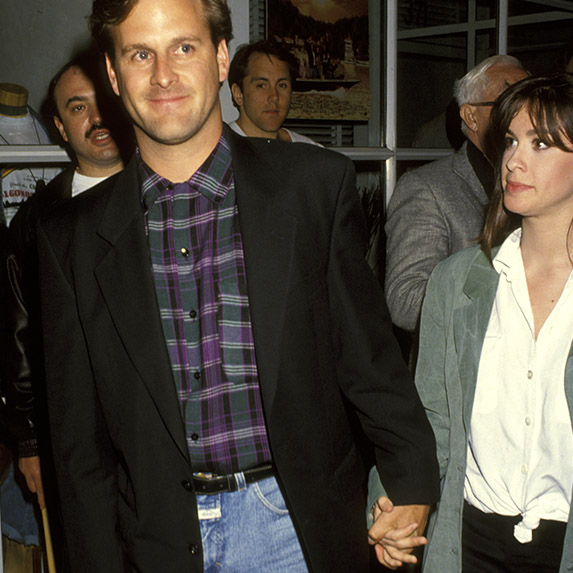 Alanis Morissette and Dave Coulier