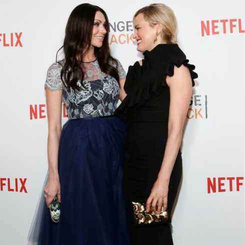 Orange Is the New Black stars Laura Prepon and Taylor Schilling