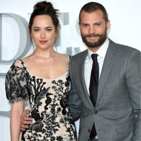 Fifty Shades stars Dakota Johnson and Jamie Dornan
