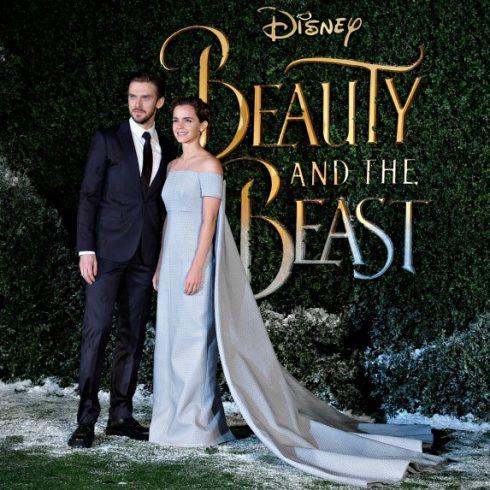 Beauty and the Beast stars Dan Stevens and Emma Watson