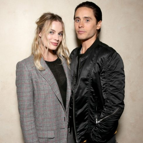 Suicide Squad stars Margot Robbie and Jared Leto