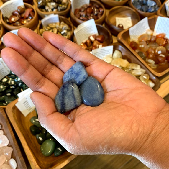 Blue Aventurine energy crystals