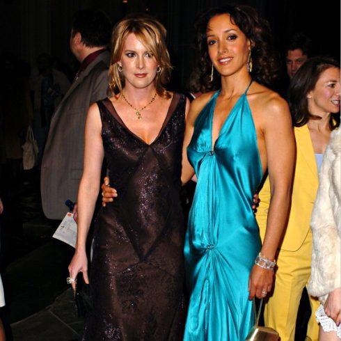 The L Word stars Laurel Holloman and Jennifer Beals