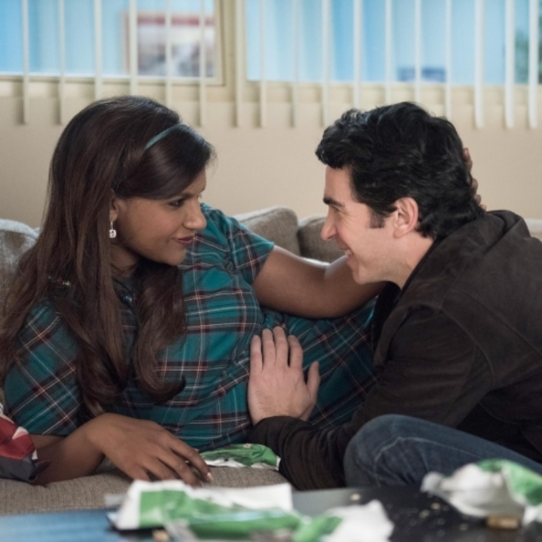 Mindy and Danny on The Mindy Project