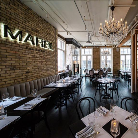 The Nordstrom Supper Suite VIP pop-up at MARBEL restaurant for TIFF 2019