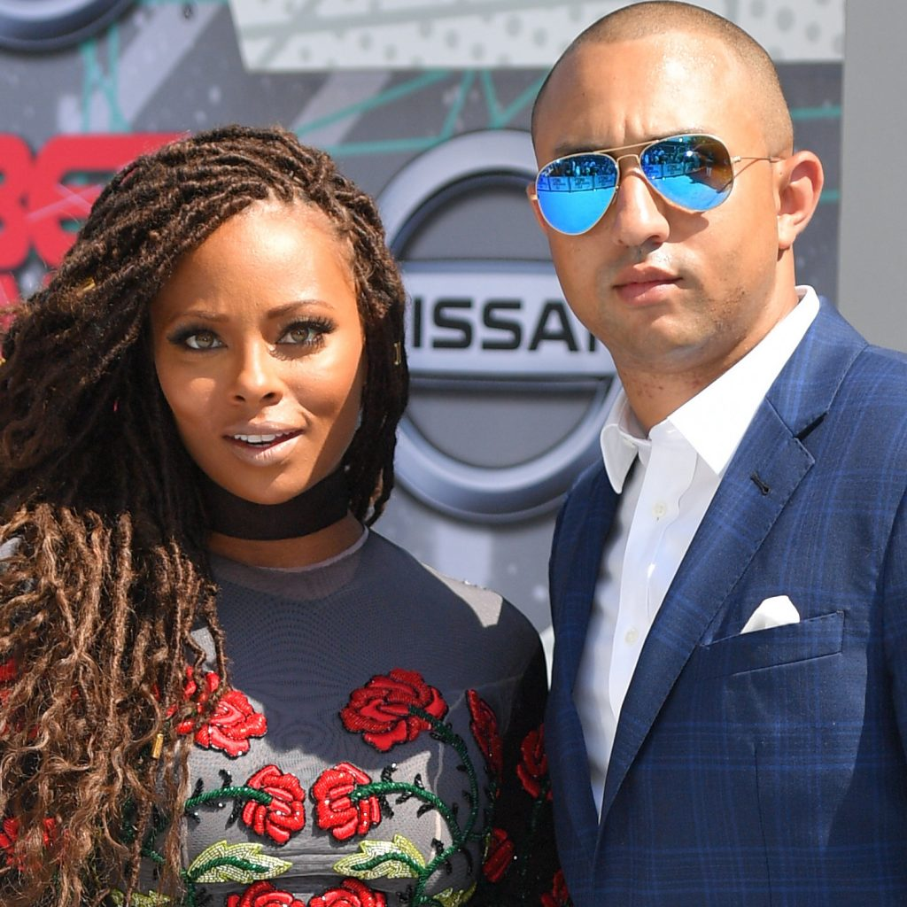 Eva Marcille with husband Michael Sterling
