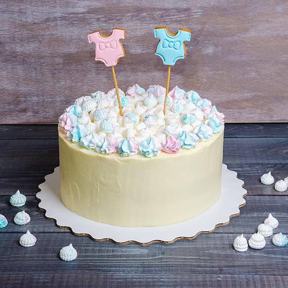 Gender Reveal: Gender reveal cake