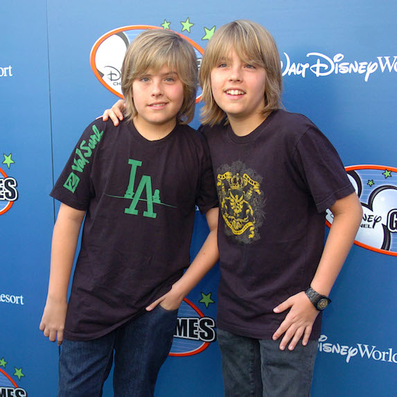 11. Dylan and Cole Sprouse
