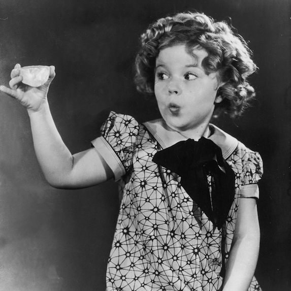 9. Shirley Temple