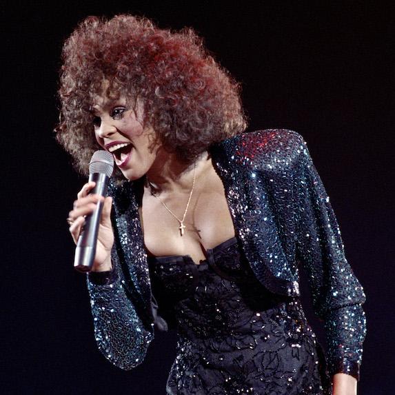 Belting out Whitney Houston
