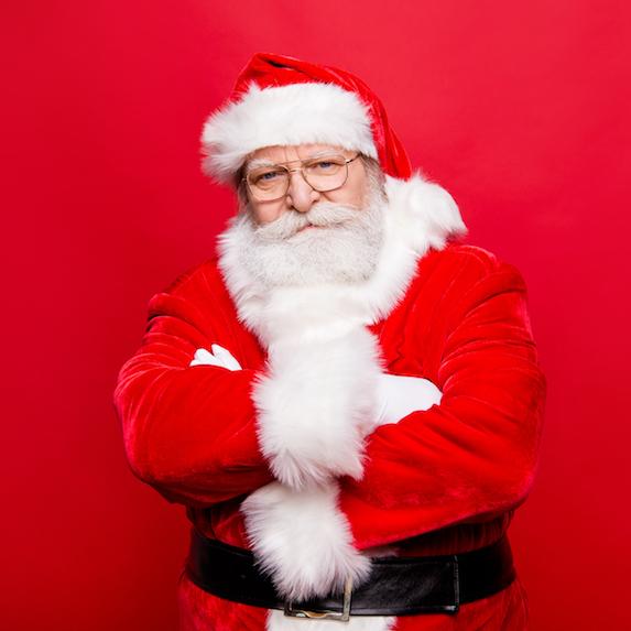 A lack of Christmas spirit