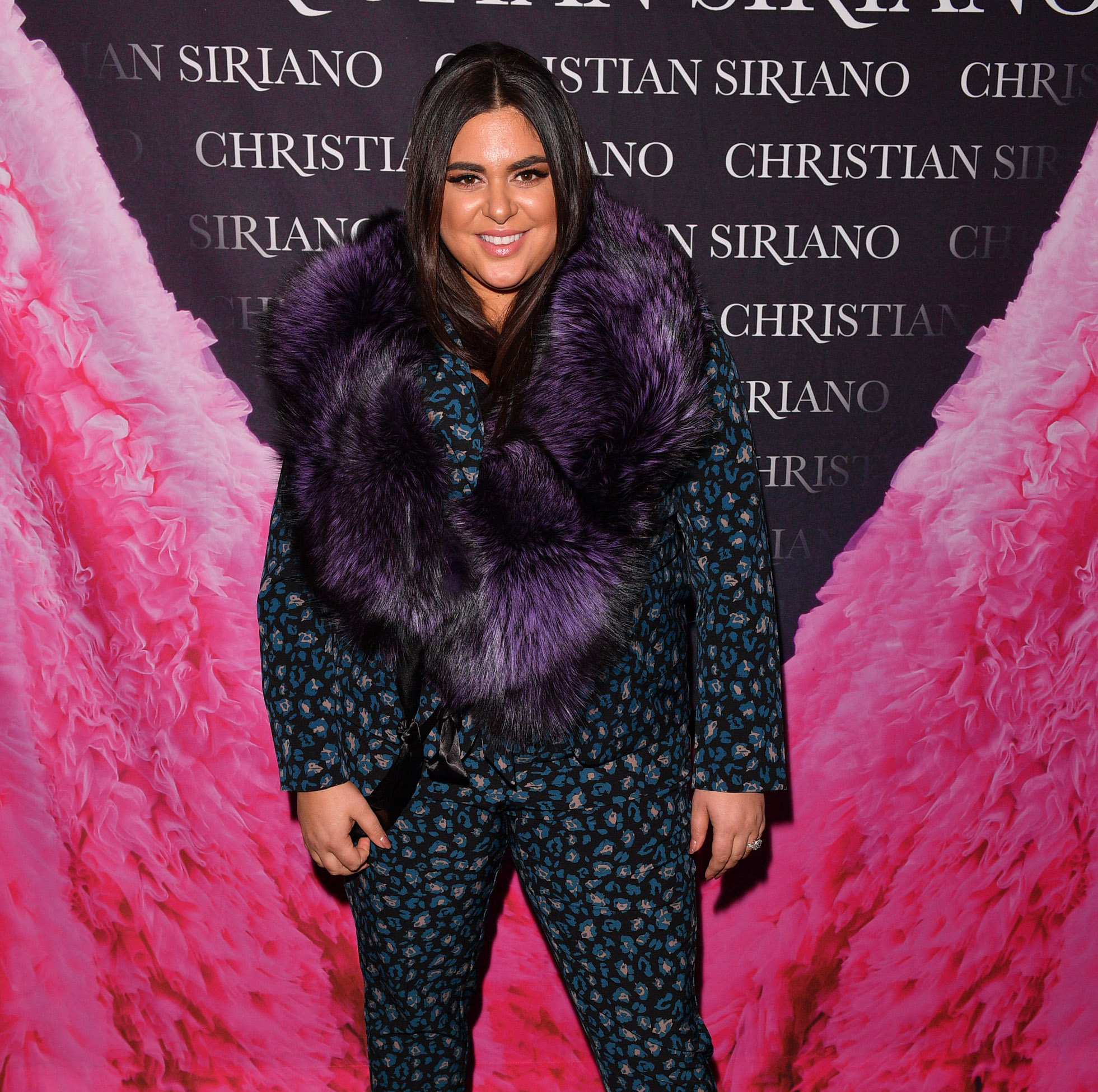 Roxy Earle at Christian Siriano event