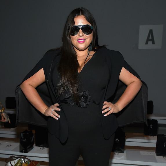 Roxy Earle wearing sunglasses