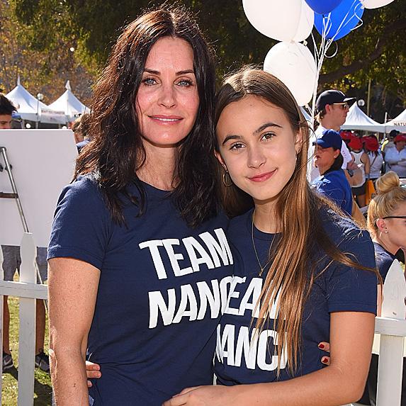Courteney Cox and daughter Coco Arquette