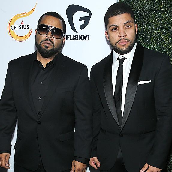 Ice Cube and son O'Shea Jackson Jr.