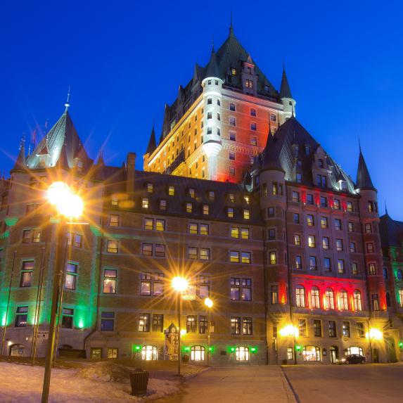 Fairmont Le Château Frontenac (Quebec City, Quebec)