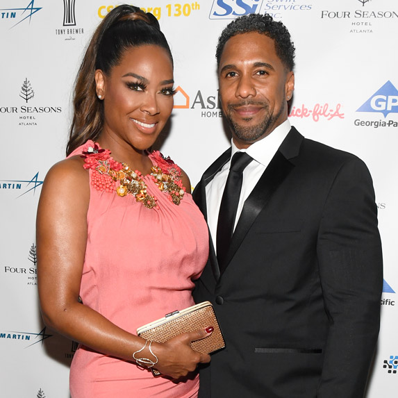 Kenya Moore and Marc Daly are done