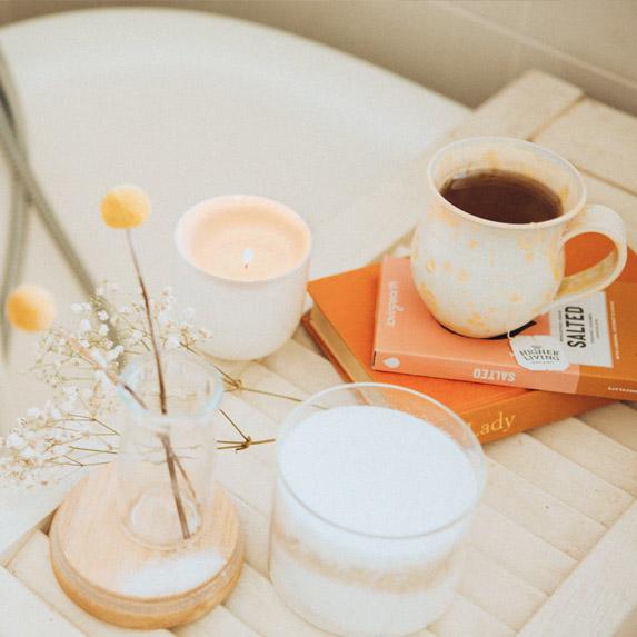 A perfect self-care routine