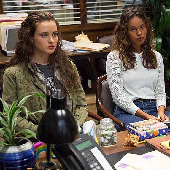 Hannah Baker and Jessica Davis, 13 Reasons Why