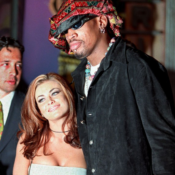Carmen Electra & Dennis Rodman