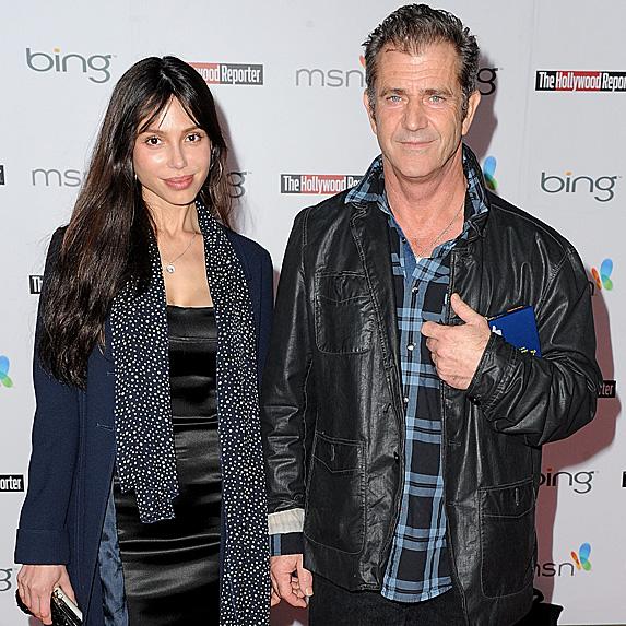Mel Gibson & Oksana Grigorieva