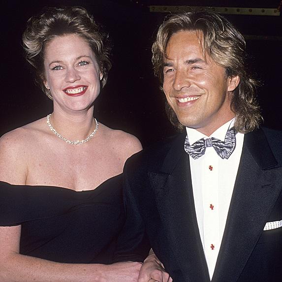 Melanie Griffiths & Don Johnson