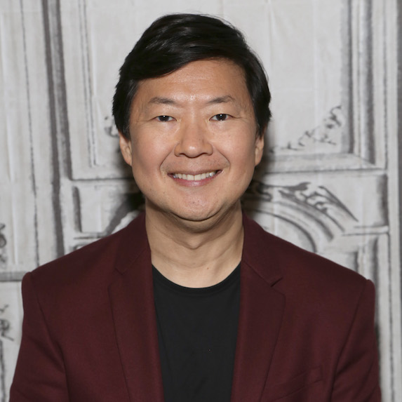 Ken Jeong smiling at the camera