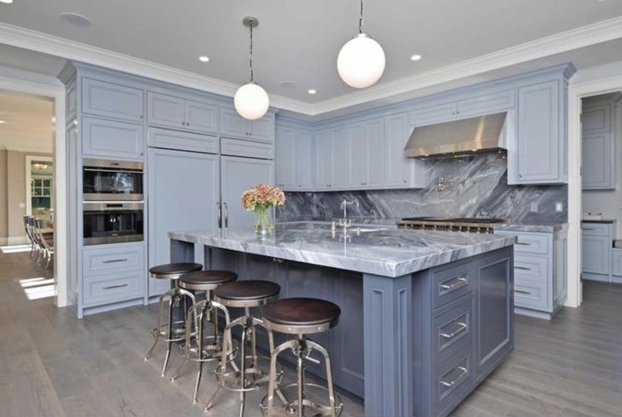 Kyle Richard's home: marvellous marble