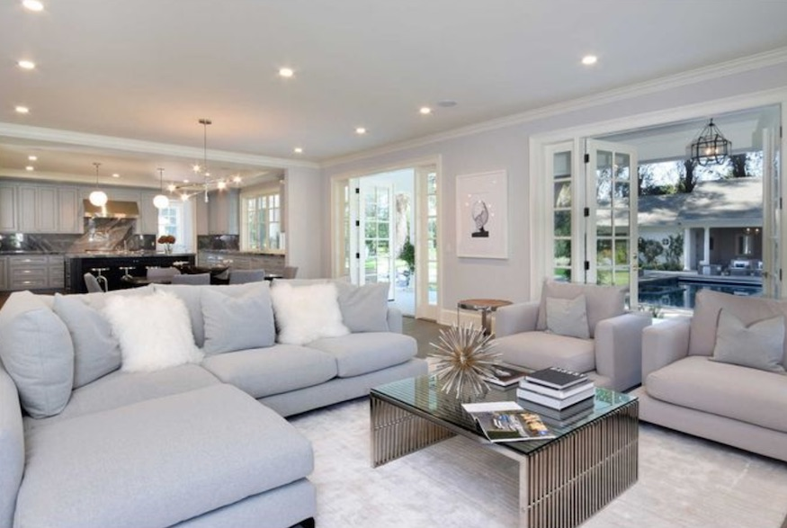 Kyle Richards' home: a beautiful open space
