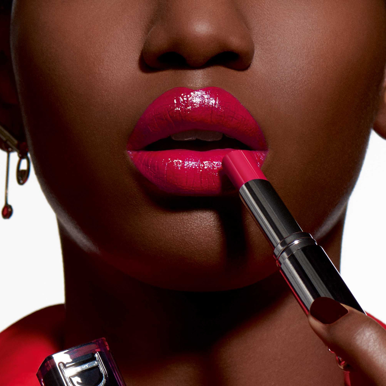 The Best Moisturizing Lipsticks - Dior Addict Lacquer Stick in Turn Me Dior Red