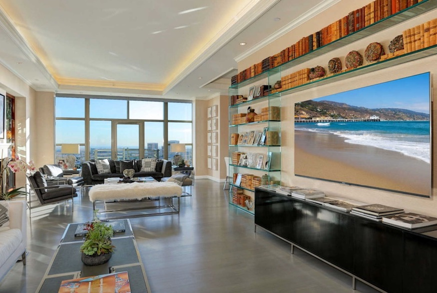 Yolanda Hadid's sky-high paradise