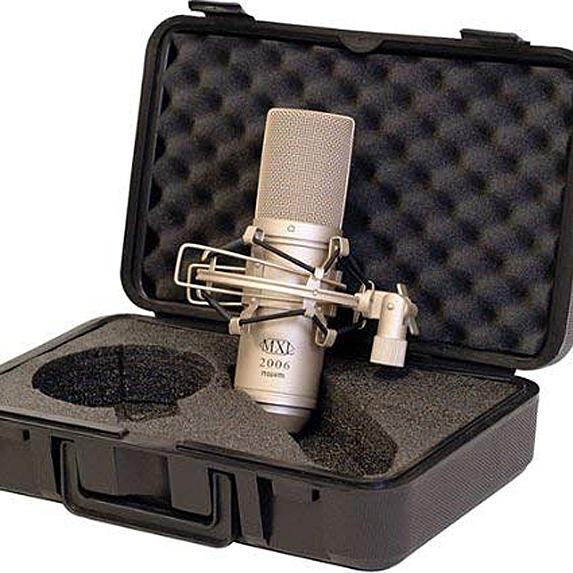 Microphone in case