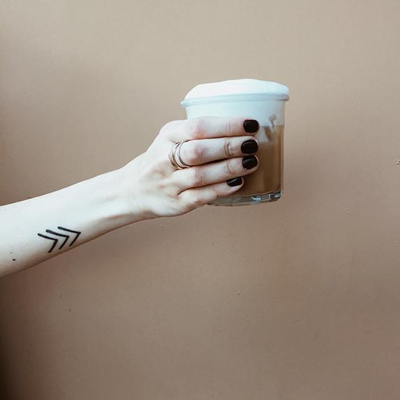 Minimal tattoo ideas: Geometric designs