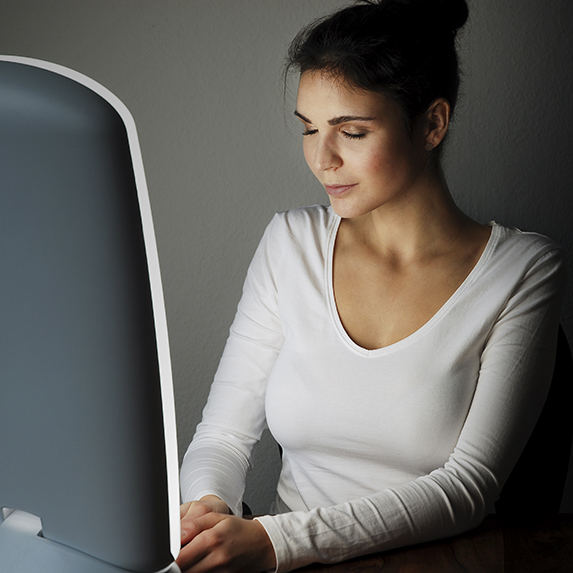 Turn yourself onto light therapy