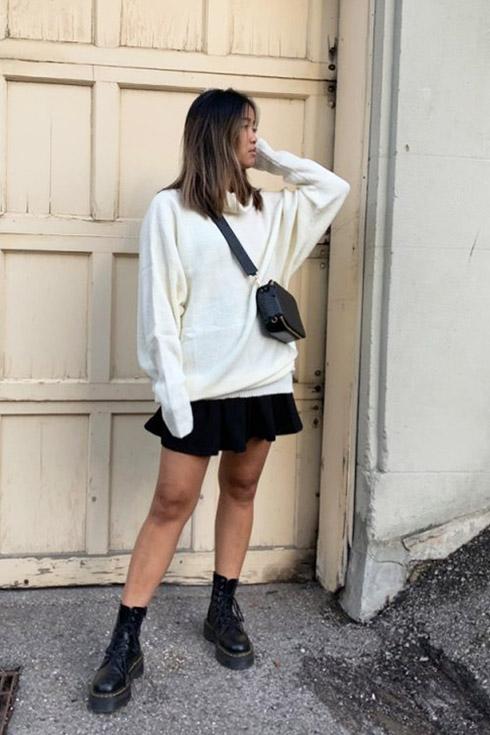 rachel hoodie outfit fall