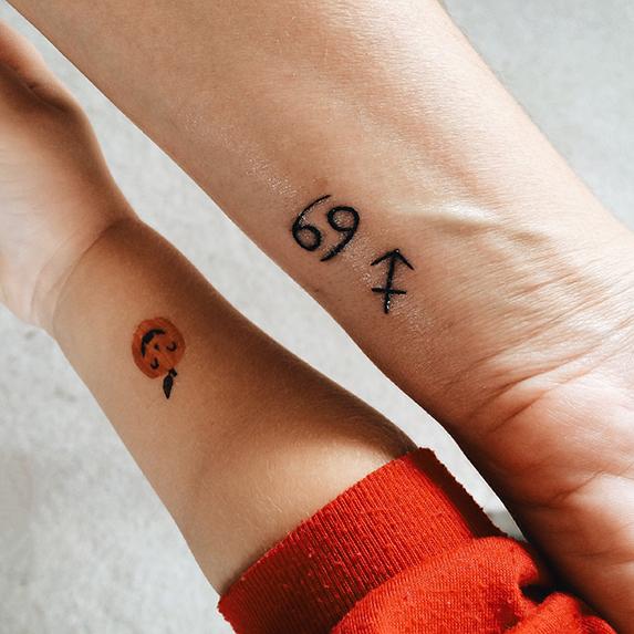 Minimal tattoo ideas: Zodiac sign