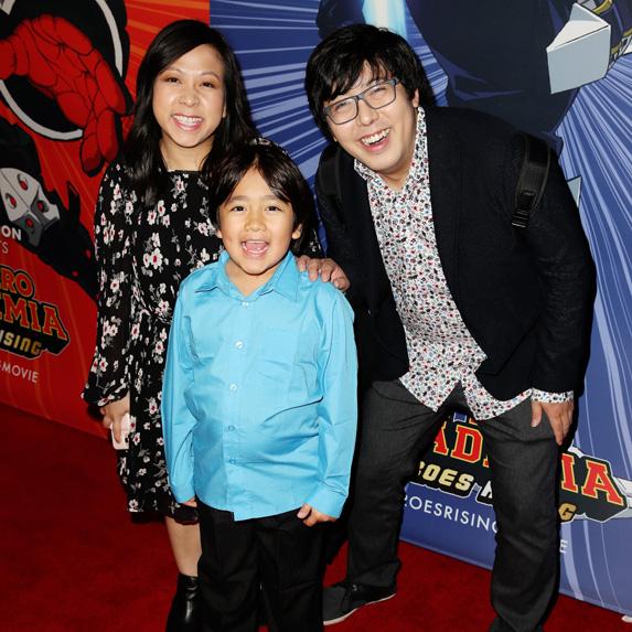 Ryan Kaji and family