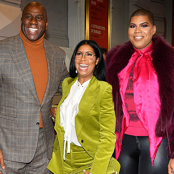 Magic, Cookie and EJ Johnson