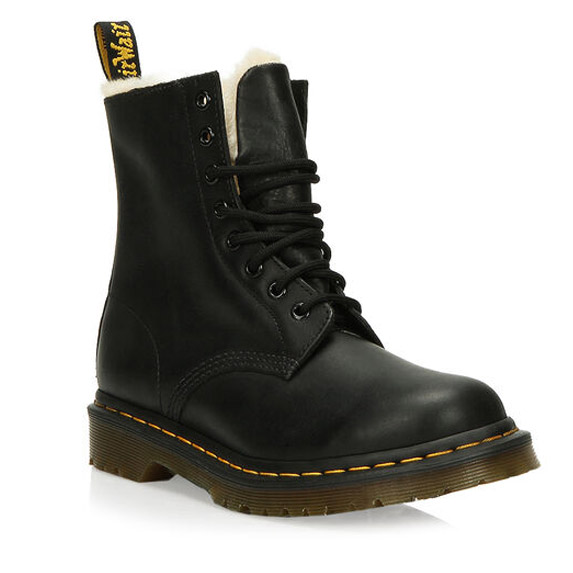Doc Martens with sweet fur lining