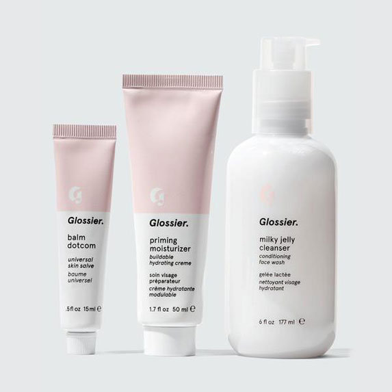 Glossier's The Skincare Set
