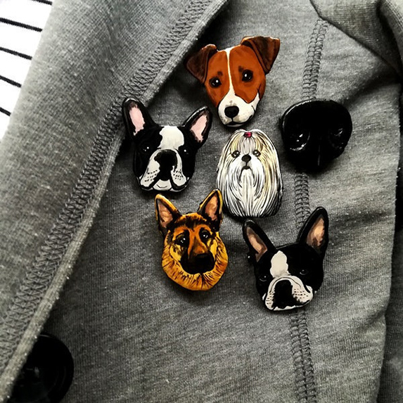 Gifts for Difficult People: Custom Pet Pins
