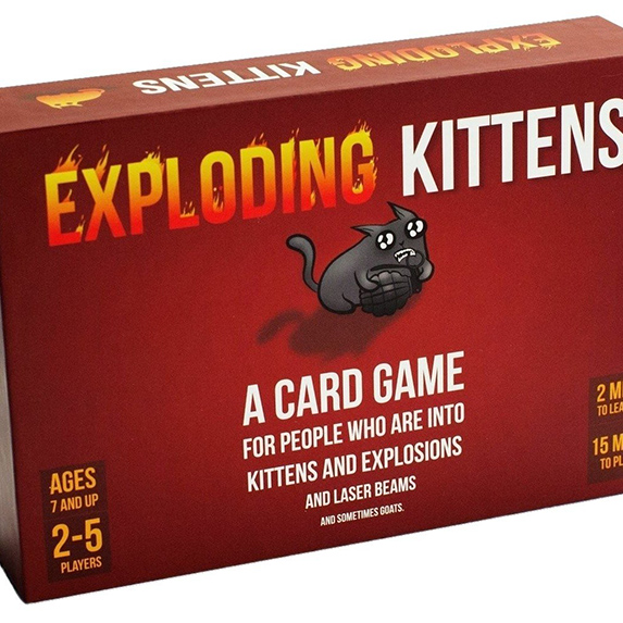 Dating Gifts… If It's Complicated: Exploding Kittens