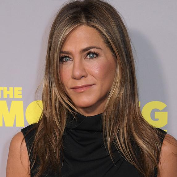 Jennifer Aniston's under-Eye TLC