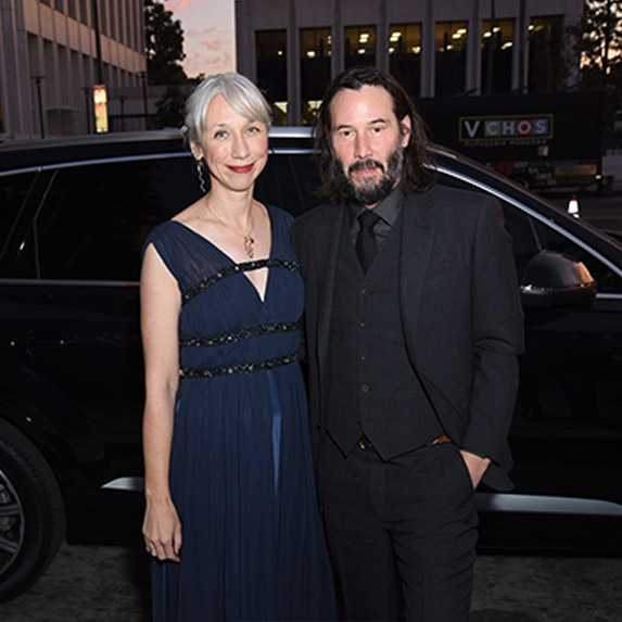 Keanu Reeves and new girlfriend Alexandra Grant