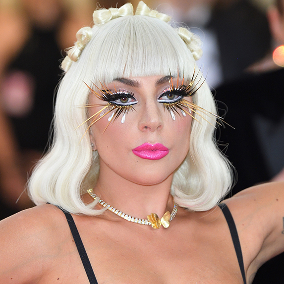 Lady Gaga's expert glitter removal